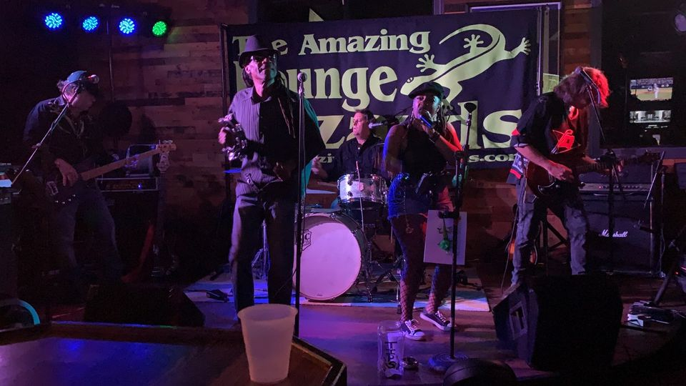 The Amazing Lounge Lizards at Blackbeard's Triple Play