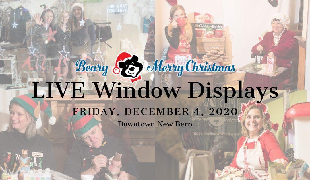 LIVE Window Displays