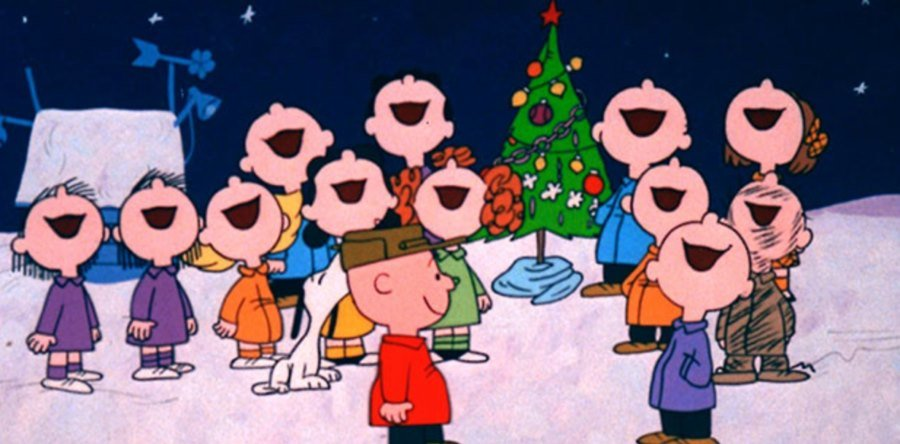 Christmas Caroling from the front porch by The Four Calling Birds