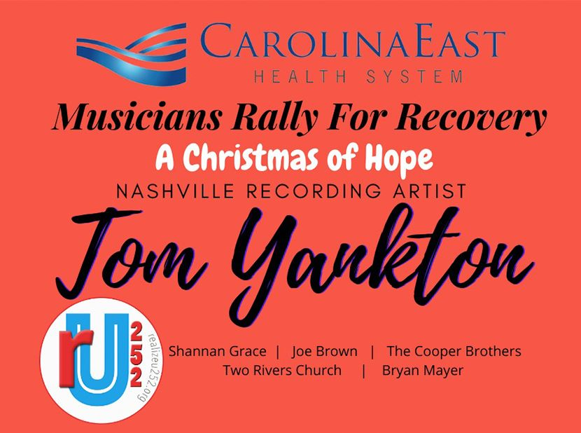 MUSICIANS RALLY FOR RECOVERY   A Christmas of Hope