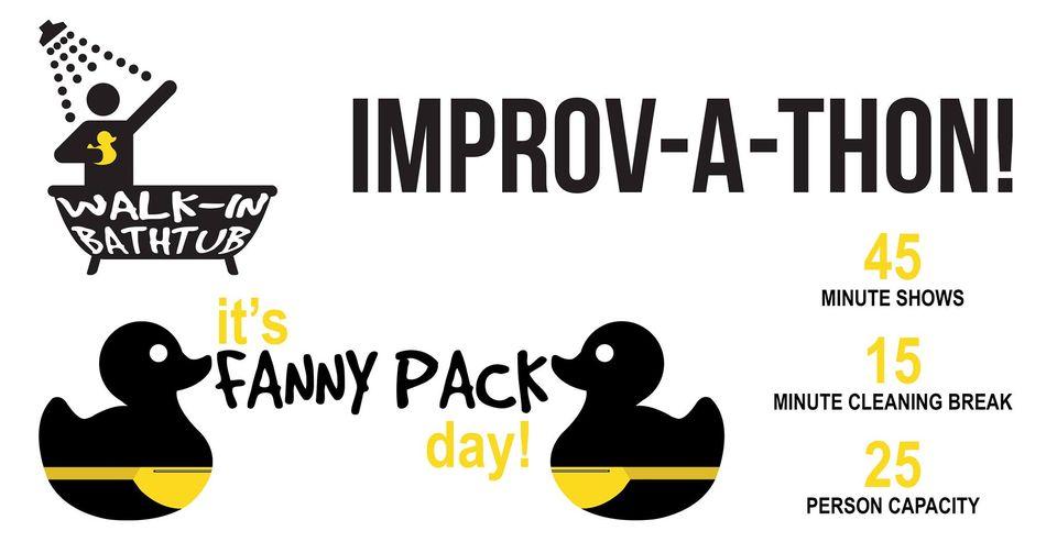 Improv-a-Thon Celebrating International Fanny Pack Day!