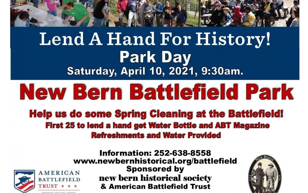 Park Day at New Bern Battlefield Park