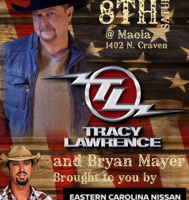 Tracy Lawrence and Bryan Mayer