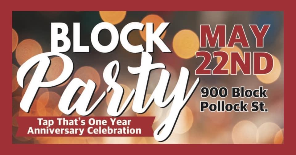 1 Year Anniversary Celebration Block Party!