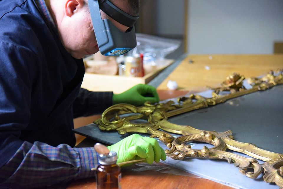 Behind the Scenes: Conservation Lab