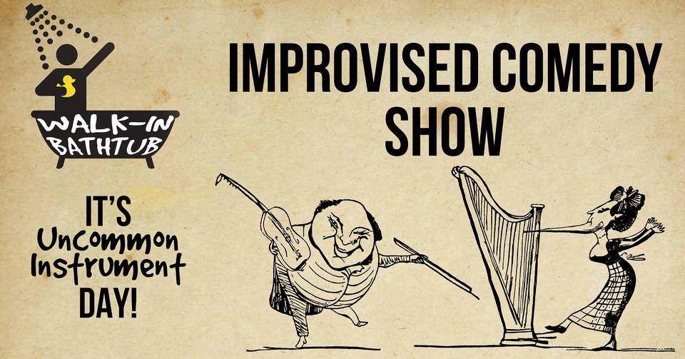 Improv Show Celebrating Uncommon Instruments Day!