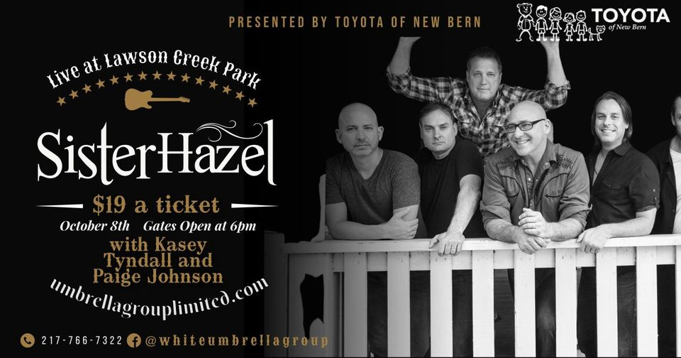Sister Hazel with Kasey Tyndall and Paige Johnson