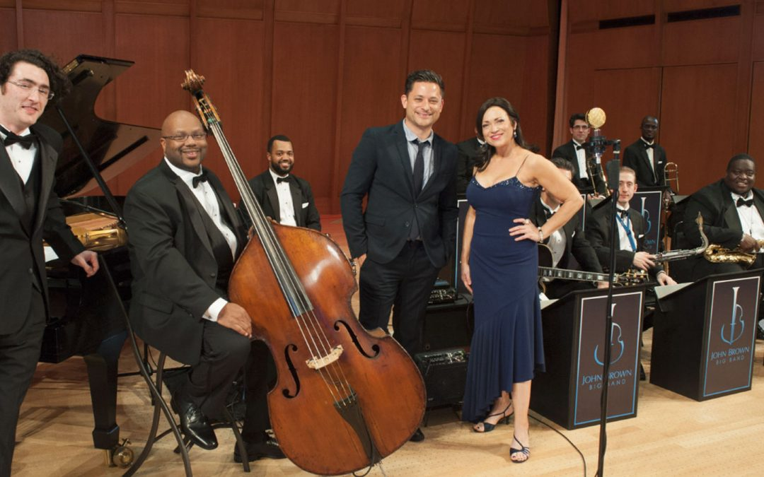 """John Brown's """"Little"""" Big Band in Concert – BIG BAND SWING"""