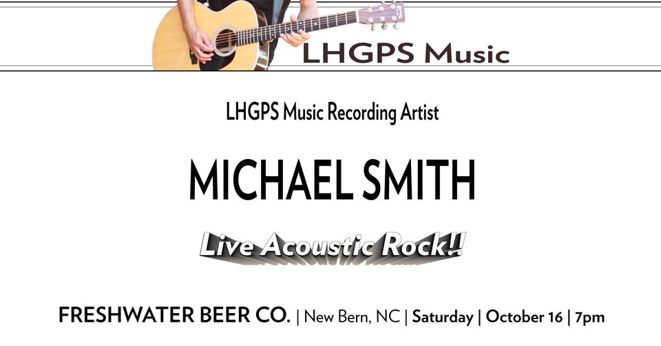 Michael Smith Live Acoustic Rock