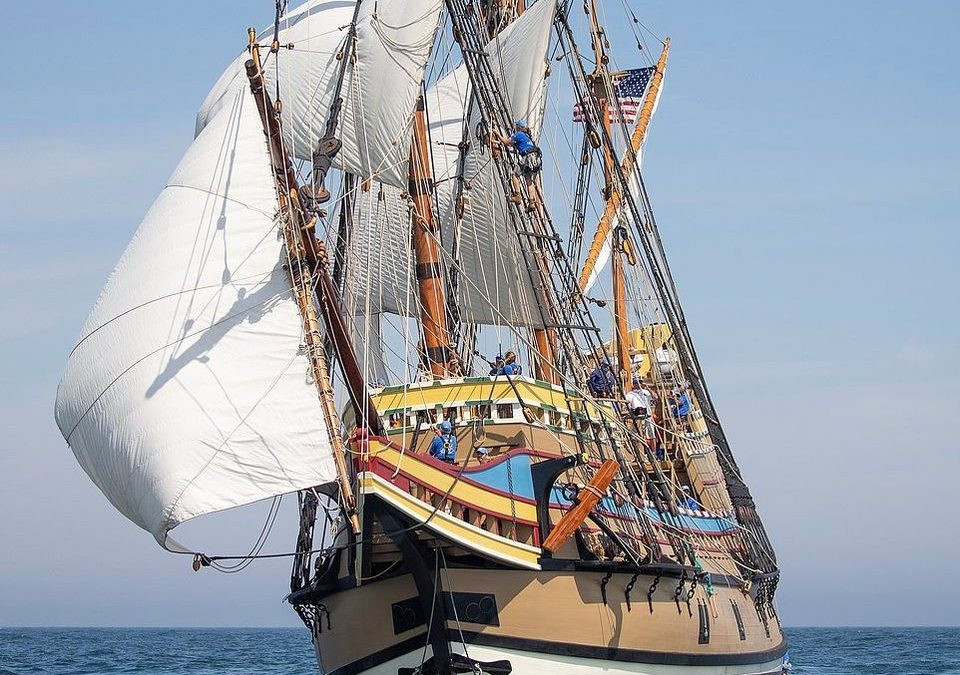 The Sailing of the Mayflower II